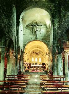 S. Egidio in Fontanella, interno della chiesa fino al 2000